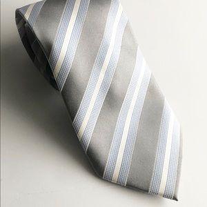 Donald Trump Tie Blue/White Stripe